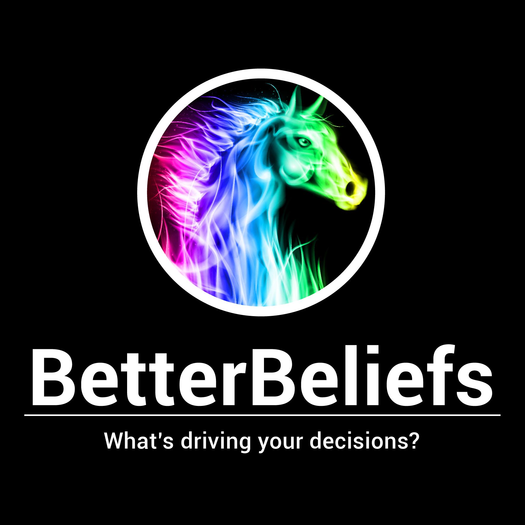 BetterBeliefs profile logo with tagline